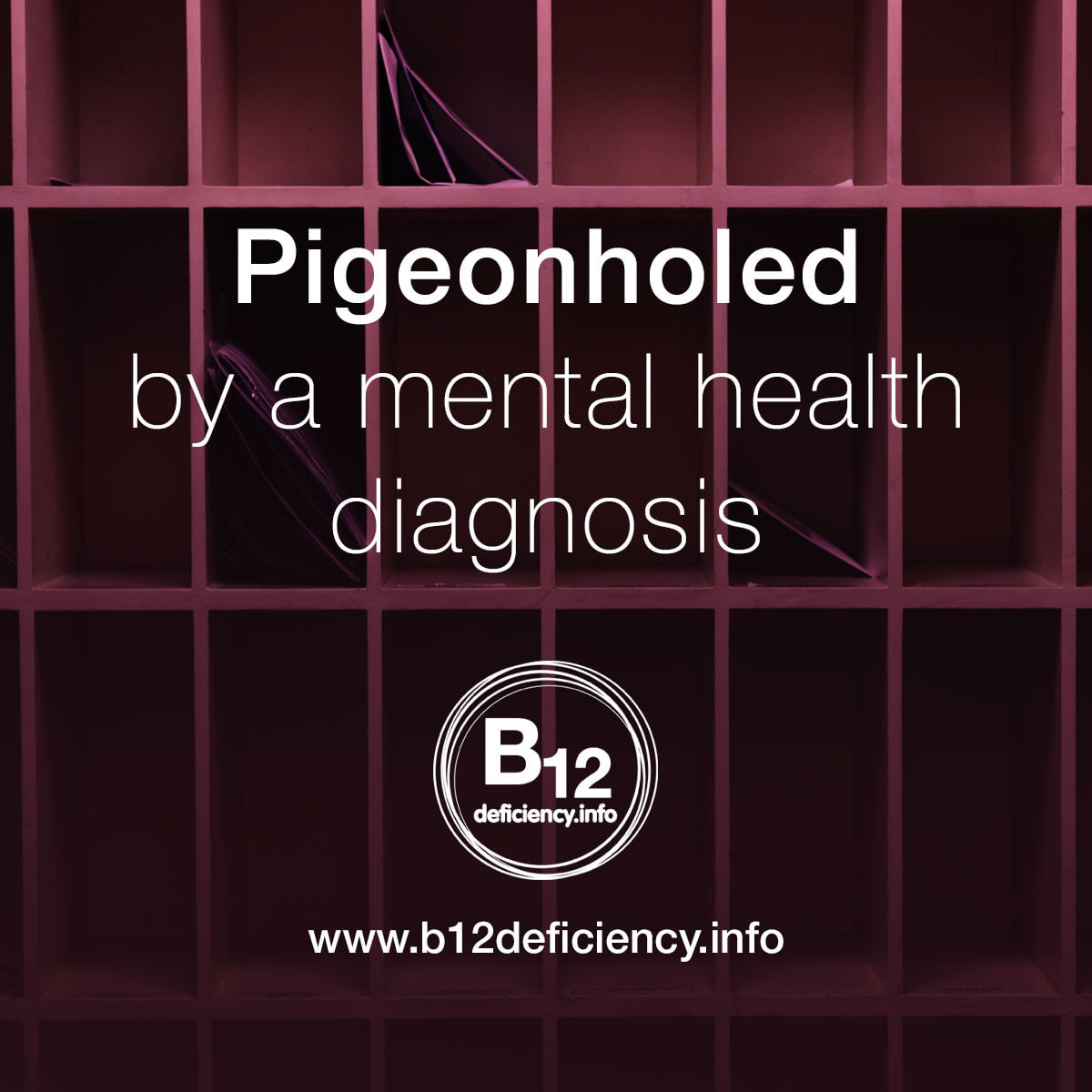 Pigeonholed by a mental health diagnosis
