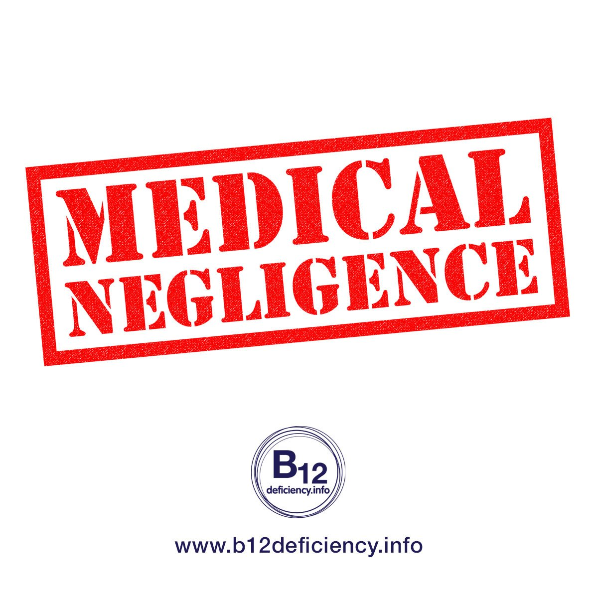 An obvious history of neglect – please help us to buy injectible B12 OTC, many doctors cannot or will not help us!
